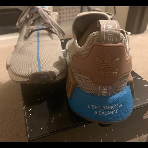 Adidas NMD R1 Star Wars Yoda Shoes Green adida.